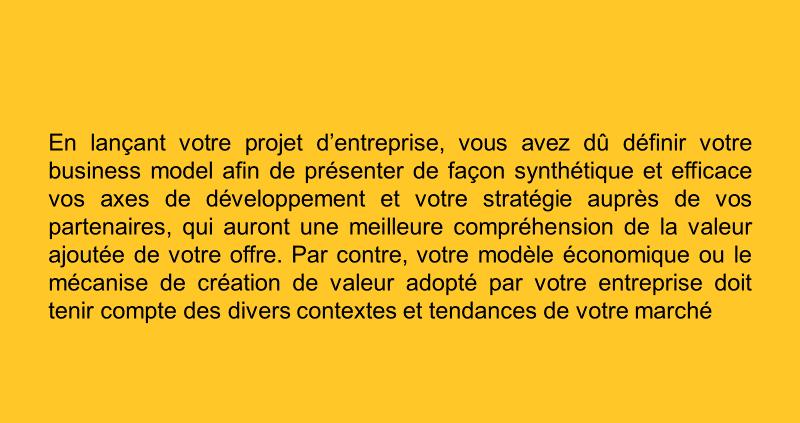 un business model